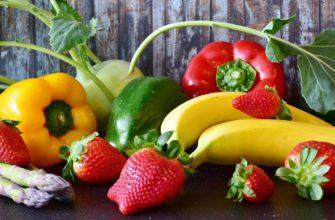 В каких фруктах и овощах много кальция